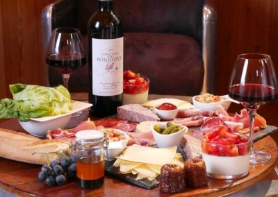 Formules repas vin